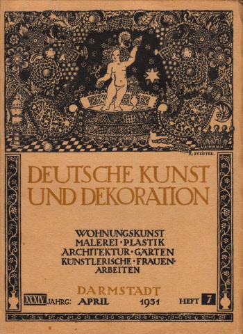 Deutsche Kunst und Dekoration - Heft 7 / 34 Jg.