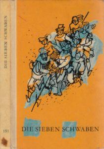 Die sieben Schwaben und andere Volksbücher Illustrationen von Gerhard Lahr