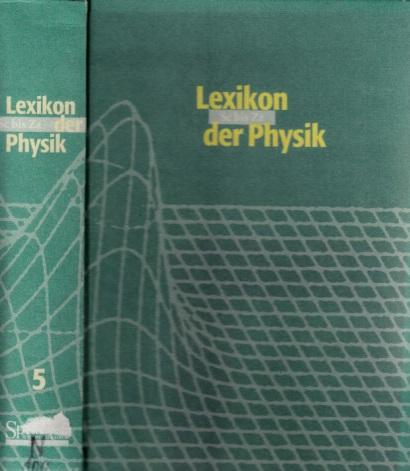 Lexikon der Physik in sechs Bänden - Fünfter Band Sc bis Zz