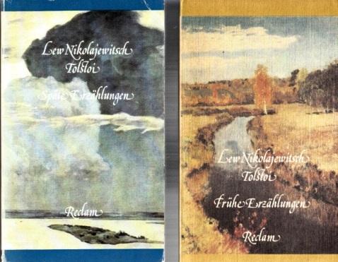 Frühe Erzählungen - Späte Erzählungen 2 Bücher