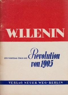 Ein Vortrag über die Revolution von 1905