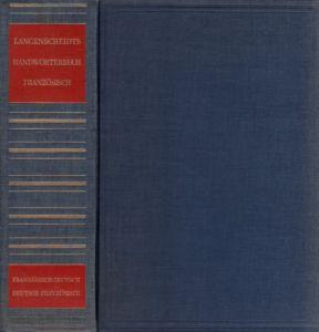 Langenscheidts Handwörterbuch Französisch - Teil 1: Französisch-Deutsch