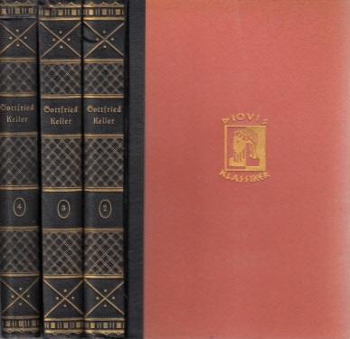 Ausgewählte Werke - 2. + 3. + 4. Band 3 Bände