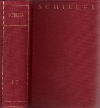Schillers Werke in zwölf Bänden - 4.-6. Band in einem Band
