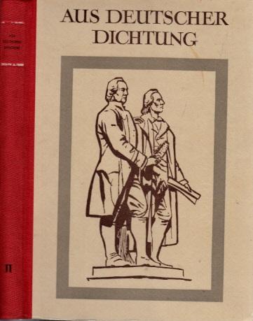 Aus Deutscher Dichtung - zweiter Band