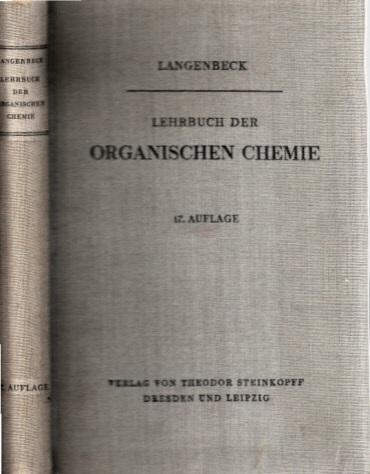 Lehrbuch der Organischen Chemie Mit 5 Abbildungen im Text