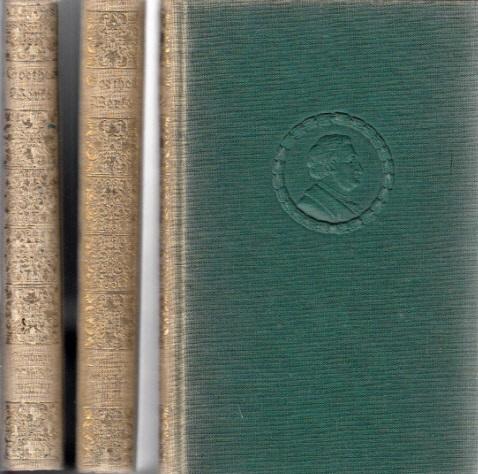 Goethes Werke 3 Bücher