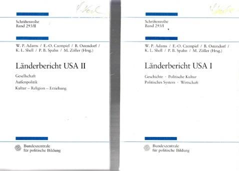 Länderbericht USA I und II - Schriftenreihe Band 293/I + Band 293/II