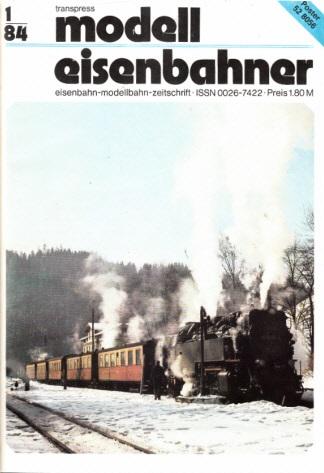 Der Modelleisenbahner - Fachzeitschrift für das Modelleisenbahnwesen und alle Freunde der Eisenbahn - 1984 / Hefte 1 bis 12