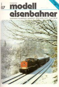 Der Modelleisenbahner - Fachzeitschrift für das Modelleisenbahnwesen und alle Freunde der Eisenbahn - 1987 / Hefte 1 bis 12