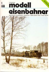 Der Modelleisenbahner - Fachzeitschrift für das Modelleisenbahnwesen und alle Freunde der Eisenbahn - 1988 / Hefte 1 bis 12