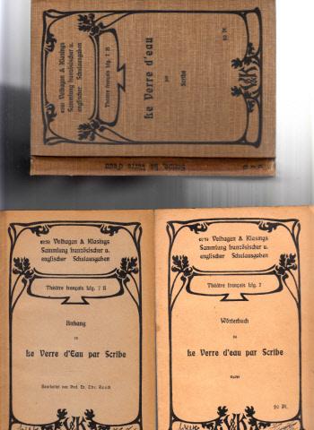 Le Verre D´Eau ou les Effets et les Causes par Scribe + Wörterbuch und Anhang
