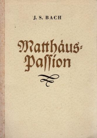 Matthäus-Passion - Passions-Musik