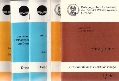 Dresdner Reihe zur Traditionspflege - Dresdner Reihe zur Forschung - Dresdner Reihe zur Lehre 5 Heftchen