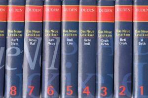 Duden - Das Neue Lexikon in zehn Bänden