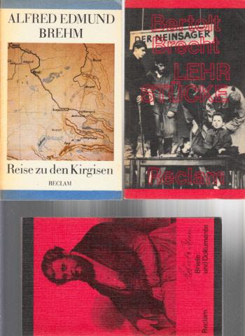 Lehrstücke - Reise zu den Kirgisen - Briefe und Dokumente 3 Bücher