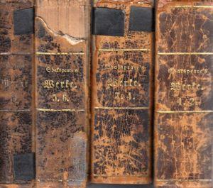 Shakspeare´s dramatische Werke - Bände 1, 3, 5, 9 4 Bücher
