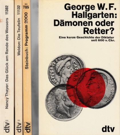 Dämonen oder Retter? - Programm 2000 - Die Teufelin - Das Glück am Rande des Wassers 4 Bücher