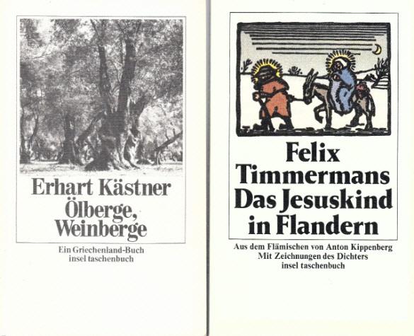 Ölberge, Weinberge - Das Jesuskind in Flandern 2 Bücher