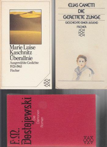 Die Dämonen - Die gerettete Zunge - Überallnie 3 Bücher
