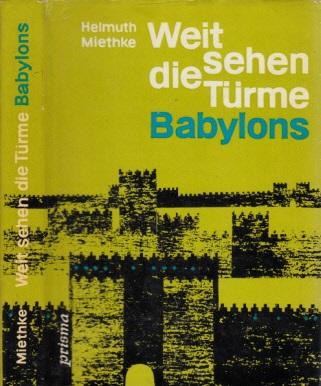 Weit sehen die Türme Babylons - Kulturgeschichtlicher Roman Mit Illustrationen von Jutta Hellgrewe