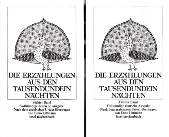 Die Erzählungen aus den Tausendundein Nächten - Band 5 und 7 2 Bücher