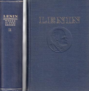 W.I. Lenin ausgewählte Werke in zwei Bänden - Band 1 + 2