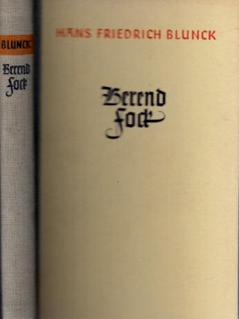Berend Fock - Die Mär vom gottabtrünnigen Schiffer