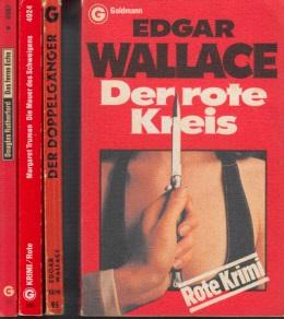 Der rote Kreis - Der Doppelgänger - Die Mauer des Schweigens - Das ferne Echo 4 Bücher