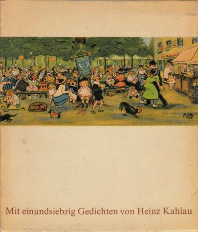 Berlin aus meiner Bildermappe Mit Versen von Heinz Kahlau
