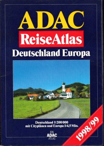 ADAC Reise Atlas Deutschland, Europa