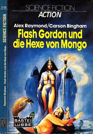 Flash Gordon und die Hexe von Mongo - Science Fiction-Roman