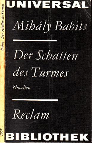 Der Schatten des Turmes - Novellen ams Universal-Bibliothek Band 1007