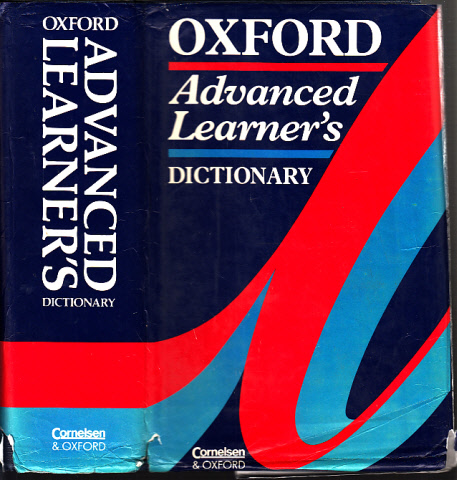 Oxford Advanced Learner´s Dictonary of Current English