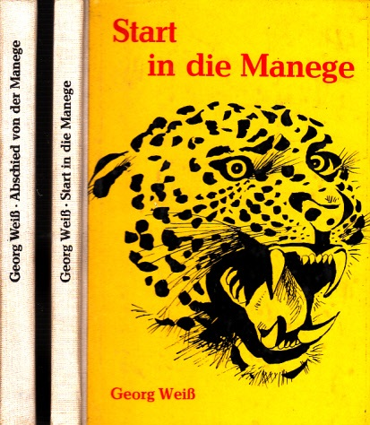 Start in die Manege - Abschied von der Manege - 2 Bücher 0