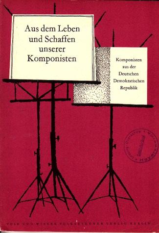 Aus dem Leben und Schaffen unserer Komponisten - Heft 4 - Biographische Lesehefte für die 7. bis 12. Klasse 0
