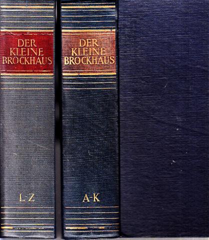 Der kleine Brockhaus in zwei Bänden - erster und zweiter Band