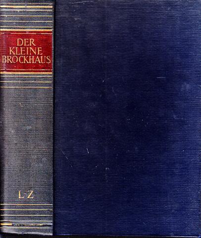 Der kleine Brockhaus in zwei Bänden - zweiter Band L - Z 0