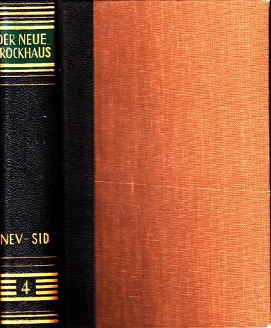Der neue Brockhaus - Allbuch in fünf Bänden und einem Atlas - vierter Band: Nev-Sid