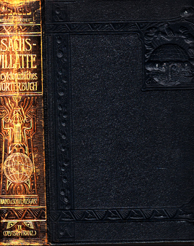 Sachs-Villatte - Encyklopädisches Wörterbuch der Französischen und Deutschen Sprache - Hand- und Schul-Ausgabe, Tei 2: deutsch-französisch 0