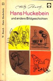 Hans Huckebein und andere Bildgeschichten Einband Armin Wohlgemuth