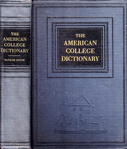 The American College Dictionary