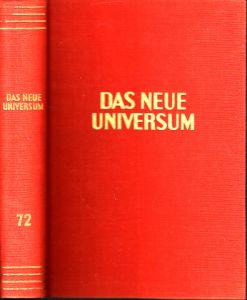 Das neue Universum Band 72 Forschung- Wissen- Unterhaltung - Ein Jahrbuch
