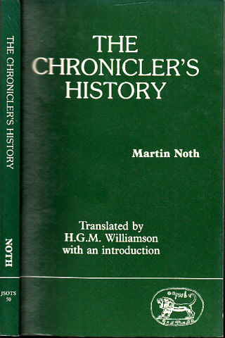 The Chronicler´s History - Journal for the Study of the Old Testament, supplement Series 50