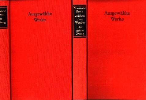 Zeichen ohne Wunder - Der grüne Zweig - Die Lichtung - Ausgewählte Werke 2 Bücher