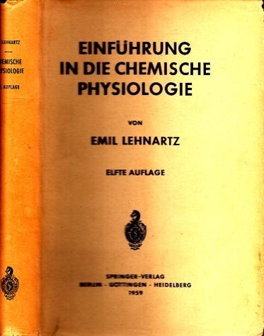 Einführung in die chemische Physiologie mit 144 Abbildungen