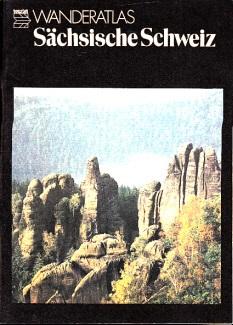 Sächsische Schweiz - Landschaftsschtzgebiet - Tourist Wanderatlas