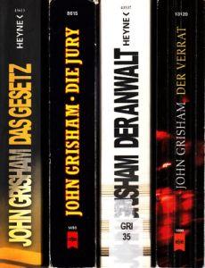 Die Jury - Der Verrat - Der Anwalt - Das Gesetz 4 Bücher