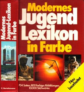 Modernes Jugend Lexikon in Farbe
