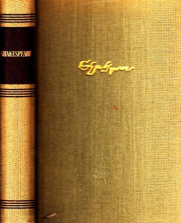 Shakespeare - Ein Lesebuch für unsere Zeit